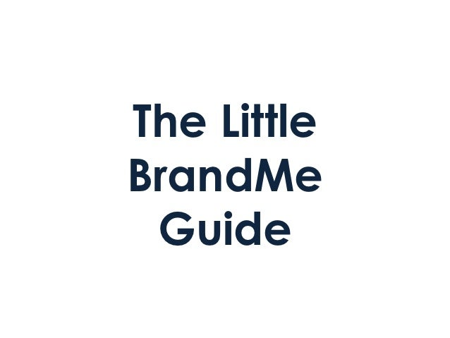 The little brand me guide
