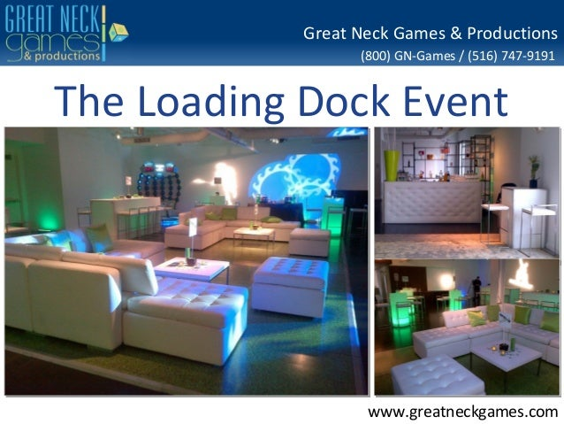 The Loading Dock Event Planning at Stamford, CT