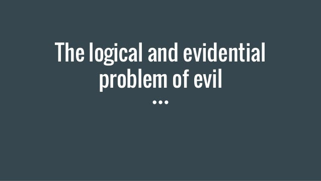 the problem of evil philosophy essay