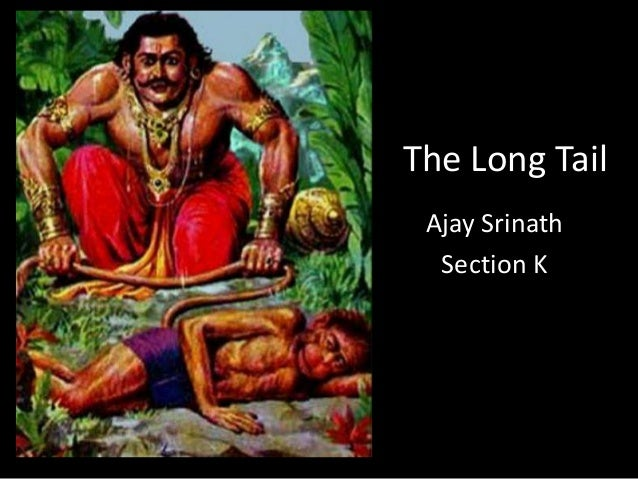 The Long Tail Ajay Srinath Section K