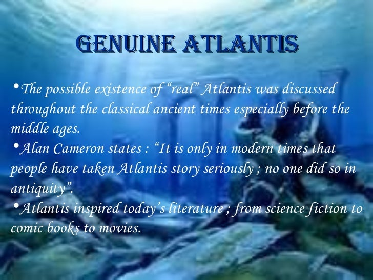 an analysis of the literature of atlantis the lost city Find lost city of atlantis after reviewing plate tectonic theories and the discovery of both the atlantis massif and the lost city in this literature.
