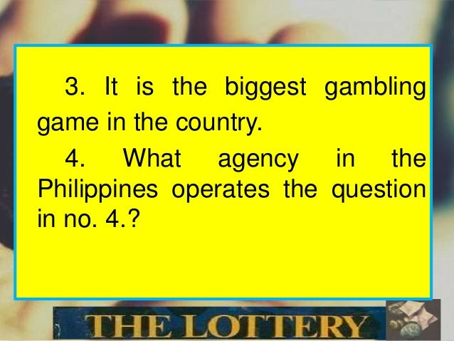 the lottery by shirley jackson research paper