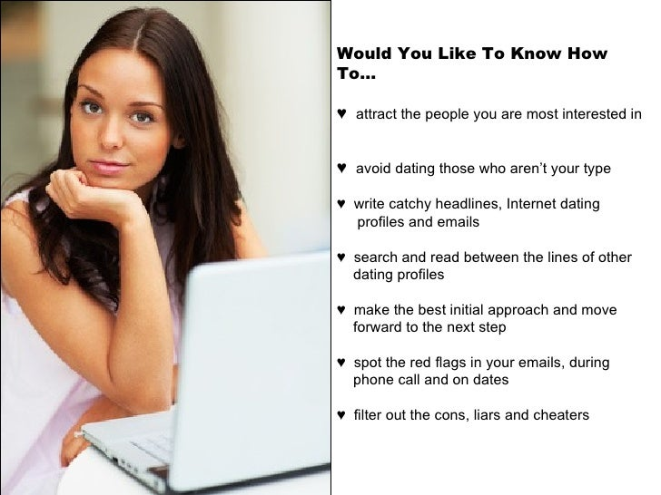 Examples of online dating profiles to attract men