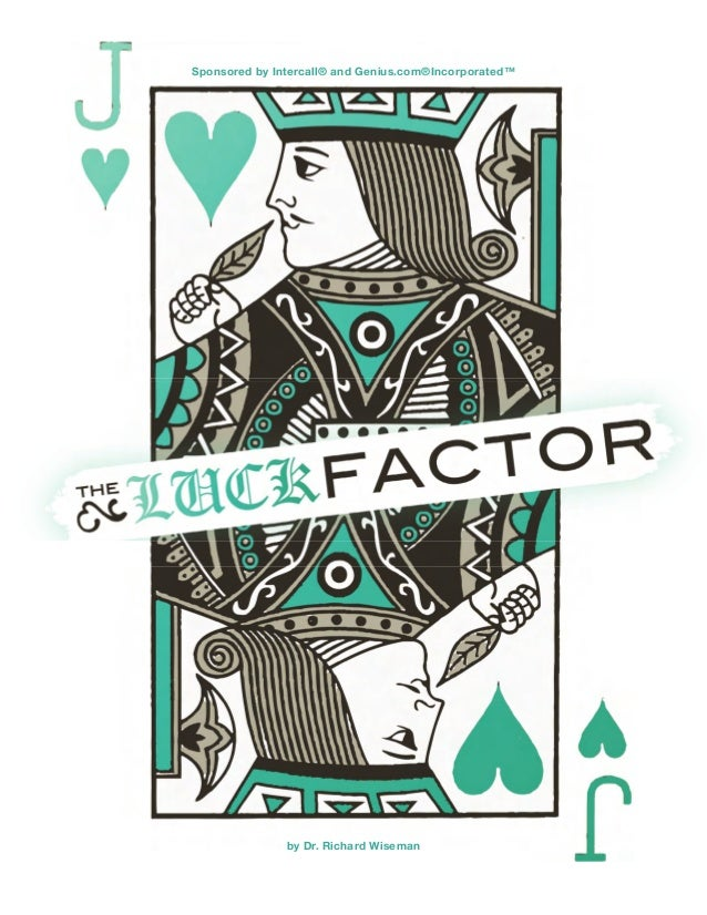 The Luck Factor Booklet - Do you have the Luck factor in 2014?