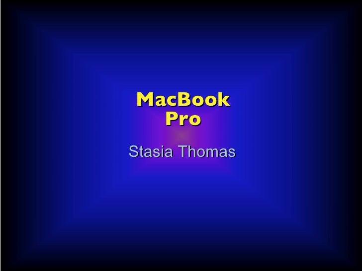 The mac book pro