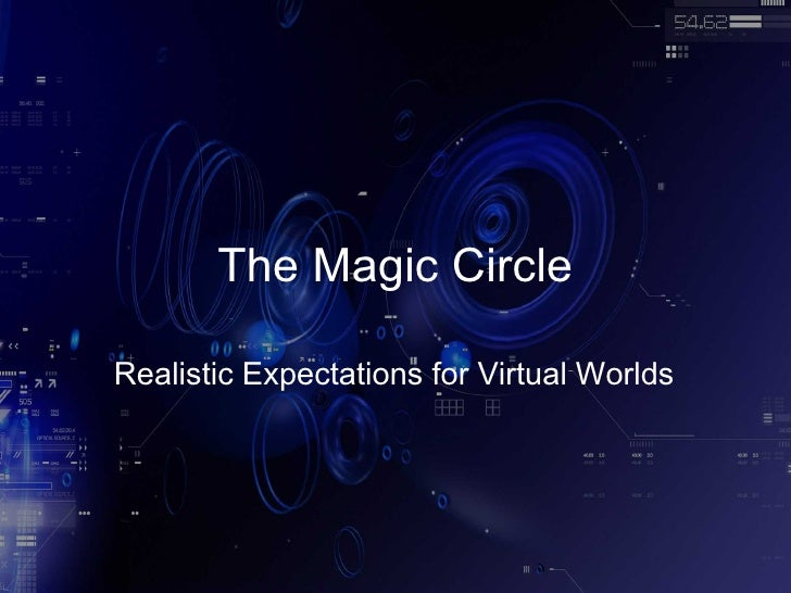 The Magic Circle: Realistic Expectations for Virtual Worlds