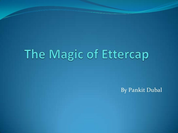 The magic of ettercap