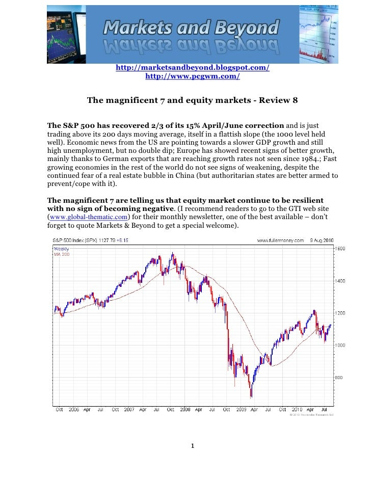 The magnificienty 7 and equity markets   review 8