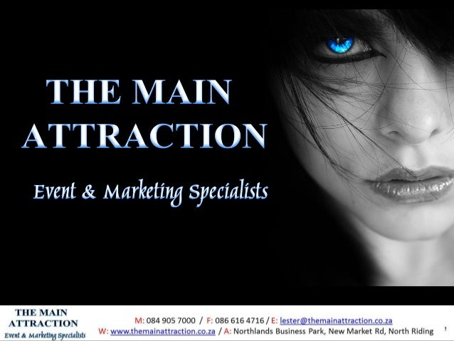 The Main Attraction Marketing cc - The Event & Marketing Specialists