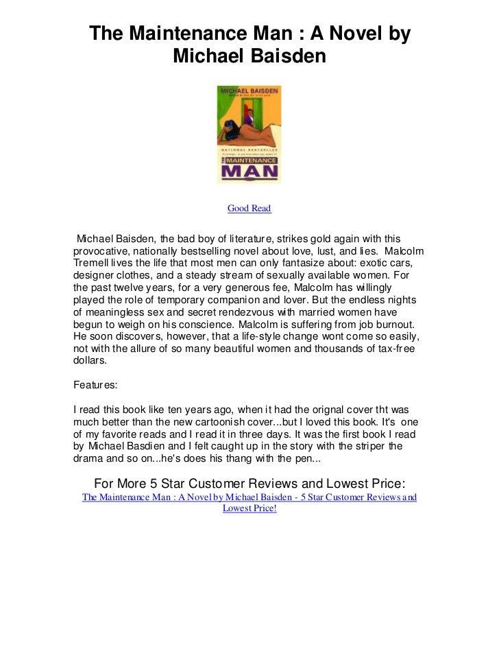 The Maintenance Man : A Novel by           Michael Baisden                                  Good Read Michael Baisden, the...