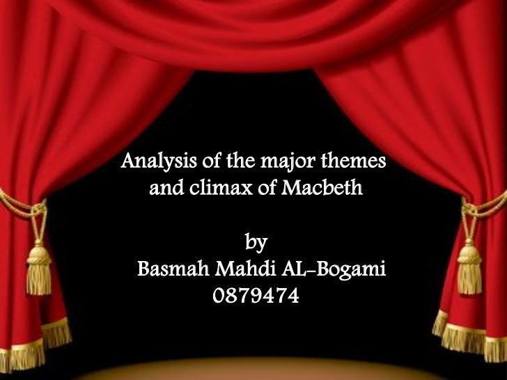 The major themes by basmah