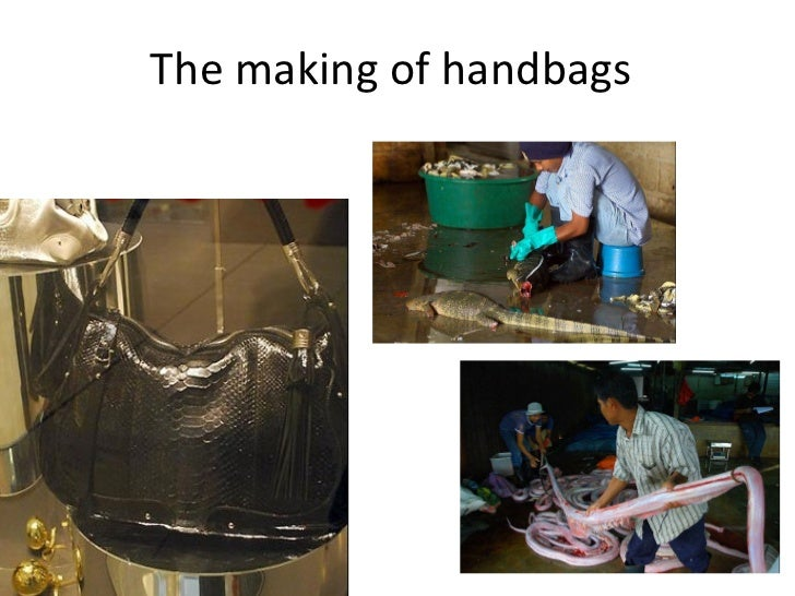 The making of handbags