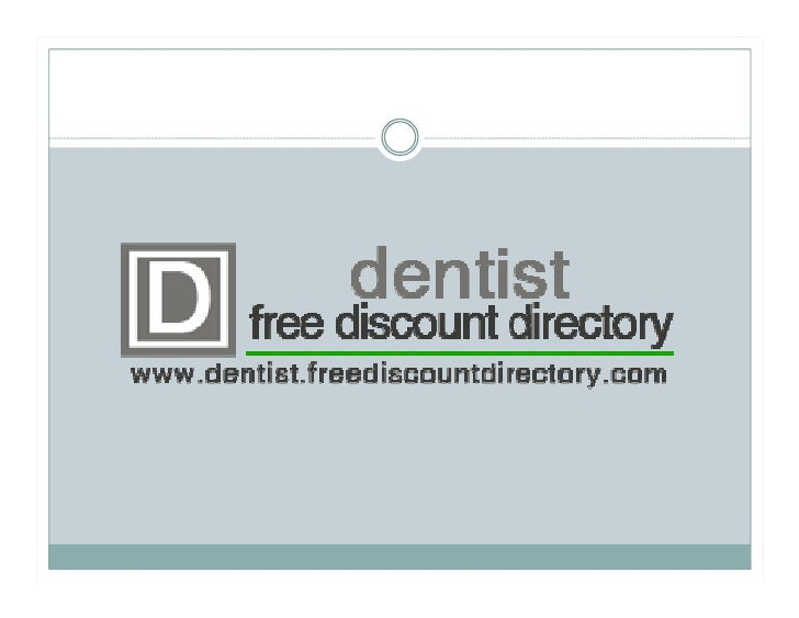 The Many Different Types of        Dentistry