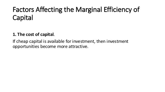 Lesson plan the marginal efficiency of capital ppt summary 7 factors affecting the marginal efficiency ccuart Images