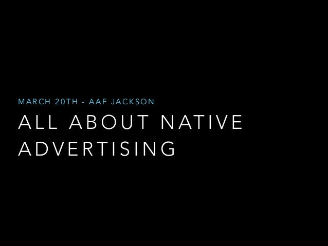 The Marketers Guide to Native Advertising