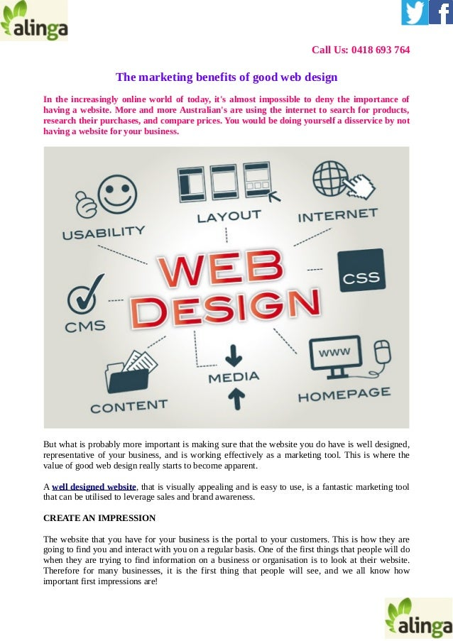What Are The Benefits Of A Good Website Design
