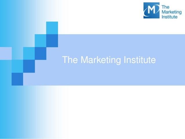 The Marketing Institute