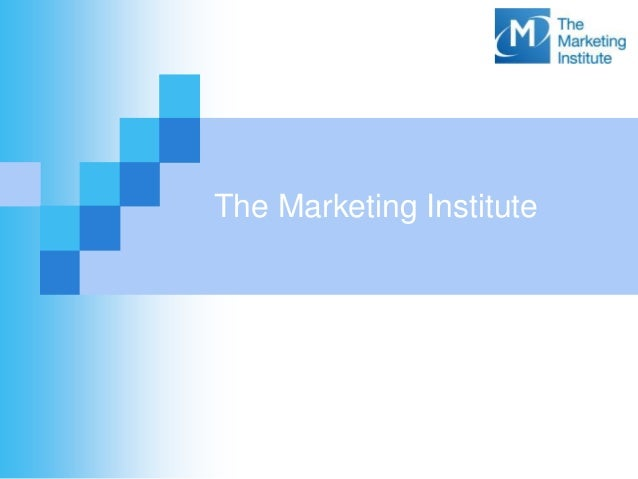 The Marketing Institite of Ireland - About