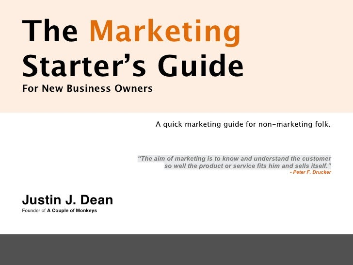The Marketing Starter's Guide for New Business Owners