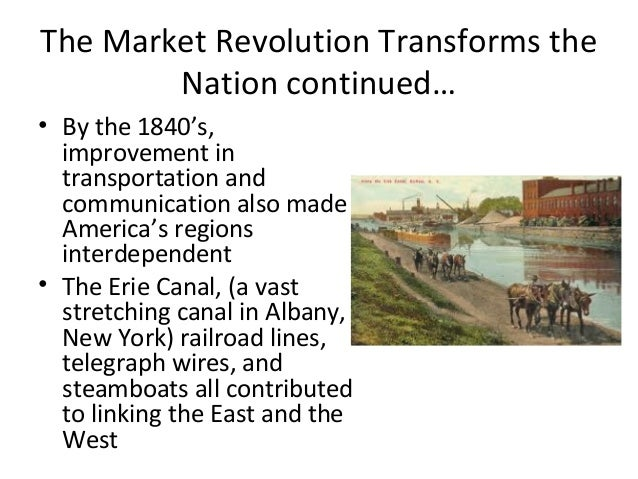 how is robert matthews impacted by the market revolution Investigate the market revolution in the 1800s through the stories of five  americans from the merchant era.