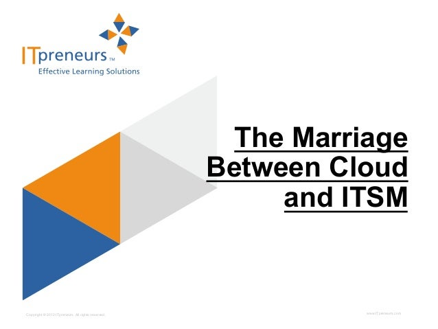 The marriage between Cloud and ITSM