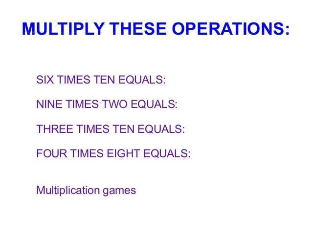 Times Two Equals Three