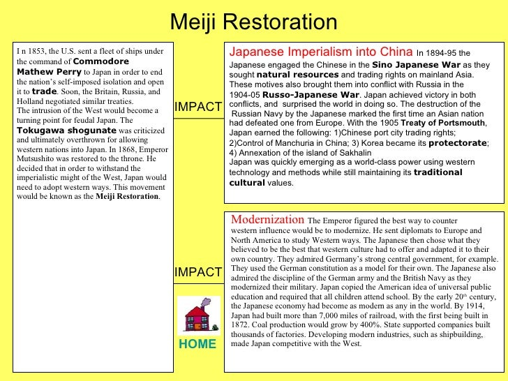 the meiji restoration essay Essay uk, reasons for the success of the meiji restoration available from: essayukcom/free-essays/history/success-meiji-restorationphp [10-09-18] available from: essayukcom/free-essays/history/success-meiji-restorationphp [10-09-18.