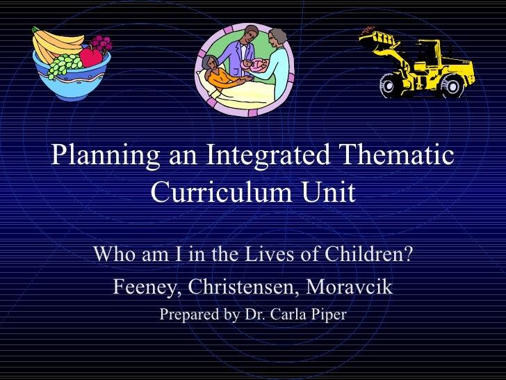 Thematicplan