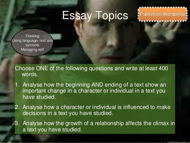 the matrix essay the matrix film study  essay