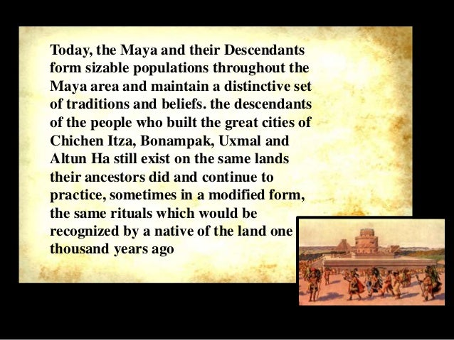 disappearance of the mayans No one really knows, the answer is still unknownbut some possible reason are famines, natural disasters,ectxyco_fryx: mayan are descendant of an.