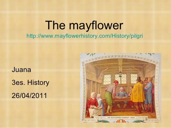 The mayflower. +2