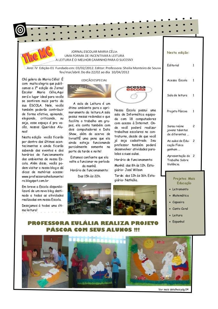 Nesta edição:                                                                                                    Editorial...