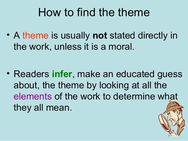 how to find theme