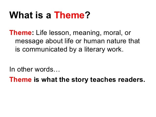 What exactly is a theme?