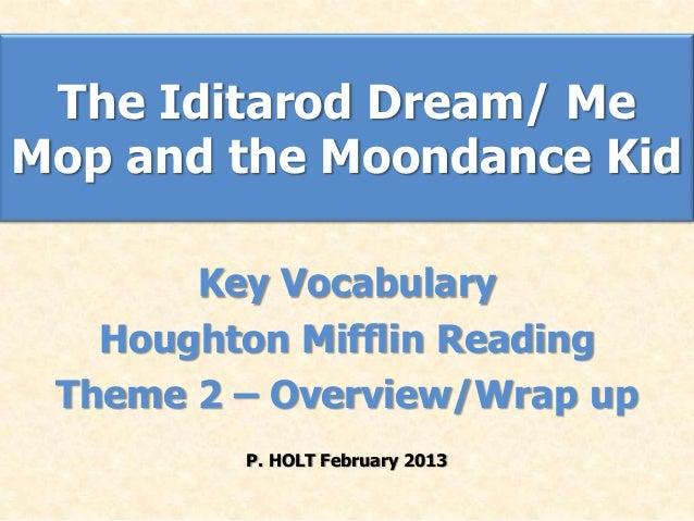 Theme 2   iditarod moondance kid vocabulary flash cards feb2013