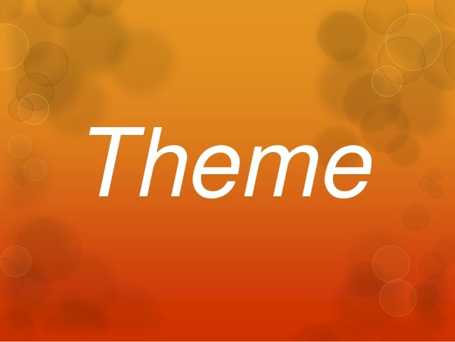 Theme for Second Graders