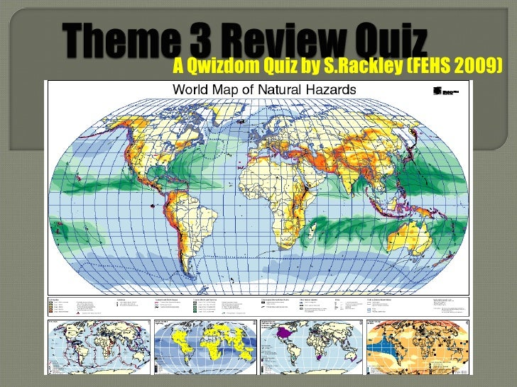 A Qwizdom Quiz by S.Rackley (FEHS 2009)