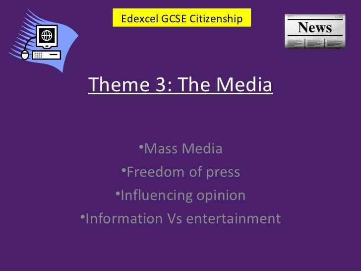 Theme 3 what is mass media