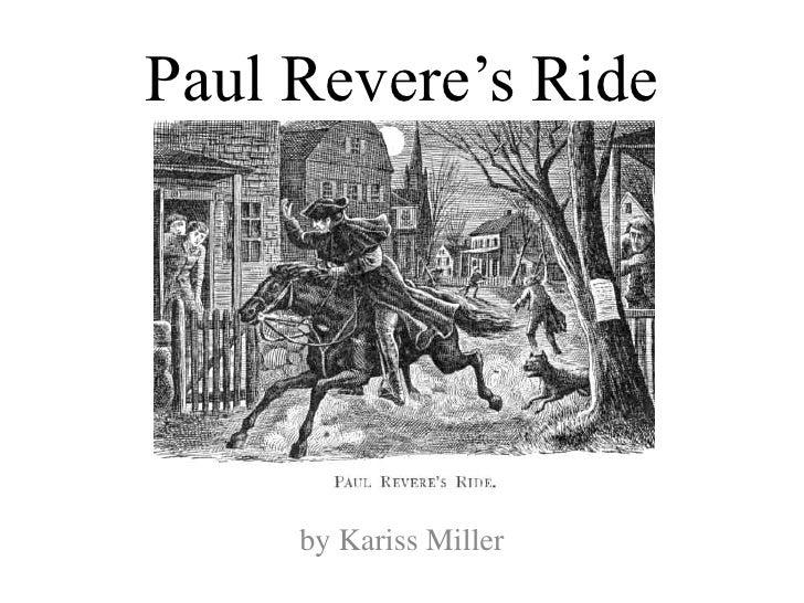 Theme 6  paul revere's ride