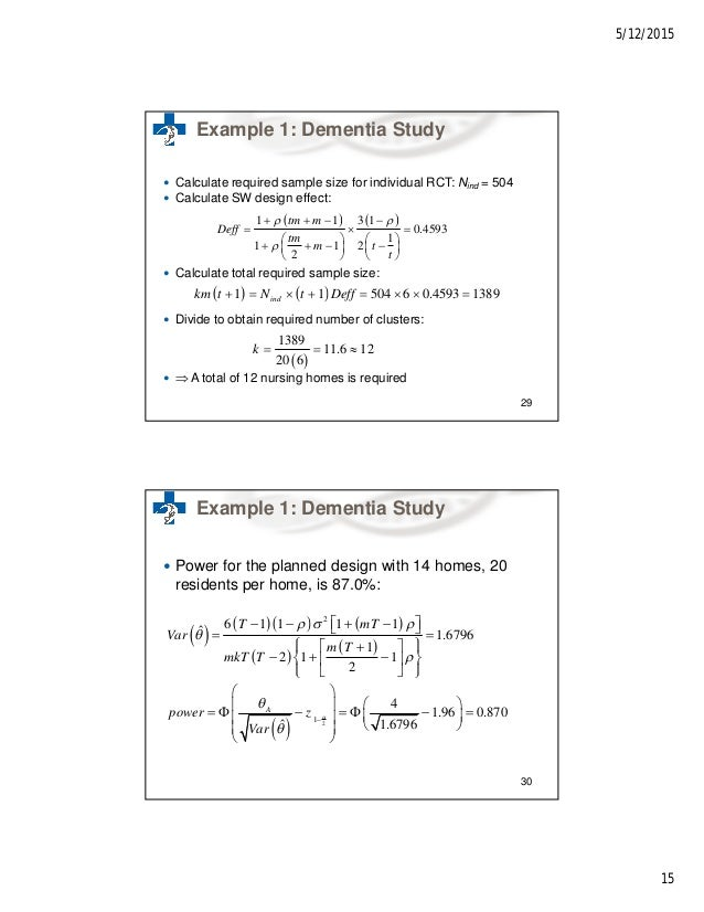 How do I calculate the appropriate Sample Size for a study?