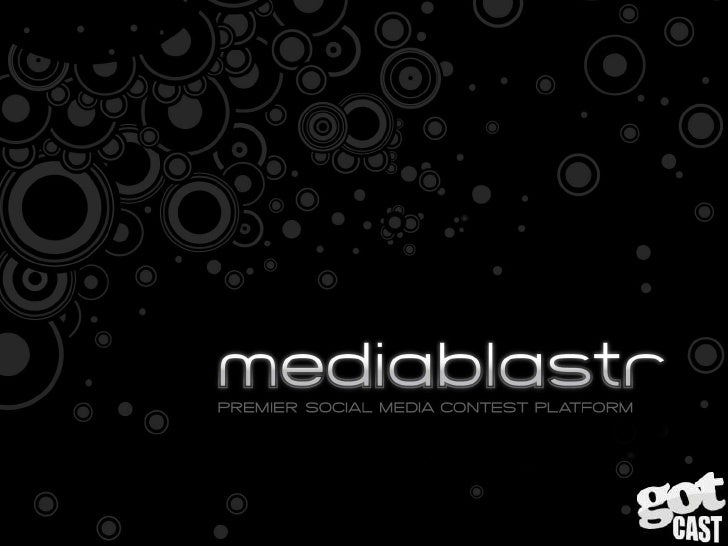 The Mediablastr Deck