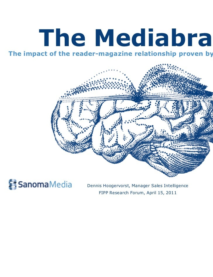 The Mediabrain - the impact of the reader-magazine relationship proven by brain research