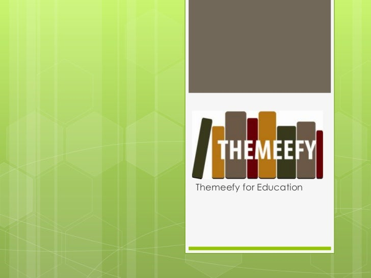Themeefy for Education