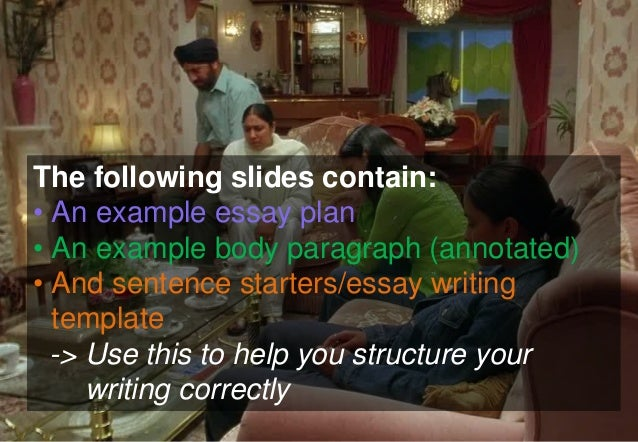 bend it like beckham theme essay The directors of 'bend it like beckham' and 'wondrous oblivion' both feature types of cultural representation in their films  we will write a custom essay sample.