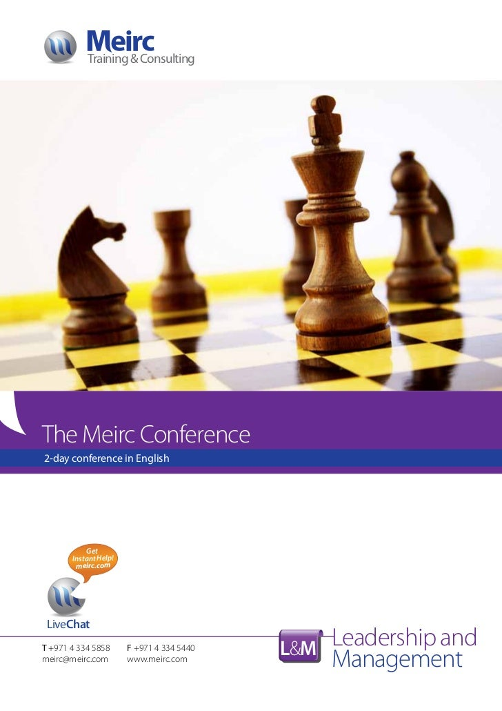 Training & ConsultingThe Meirc Conference2-day conference in English           Get       Instant Help!        meirc.com Li...