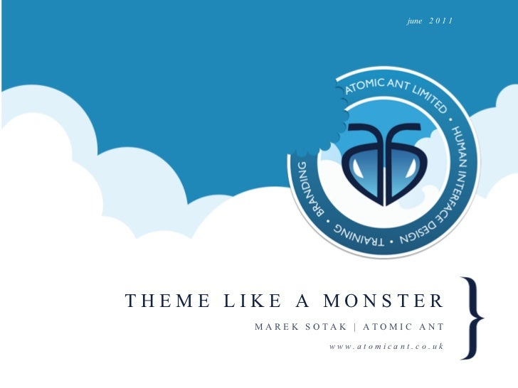 Theme like a monster #ddceu