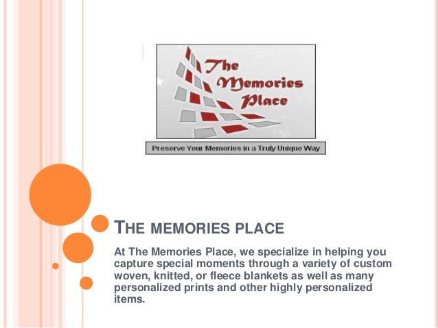 THE MEMORIES PLACEAt The Memories Place, we specialize in helping youcapture special moments through a variety of customwo...