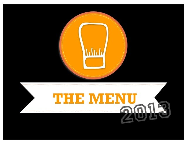The Menu 2013: A guide to harnessing the visual web