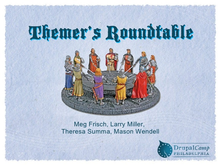 Themer's roundtable