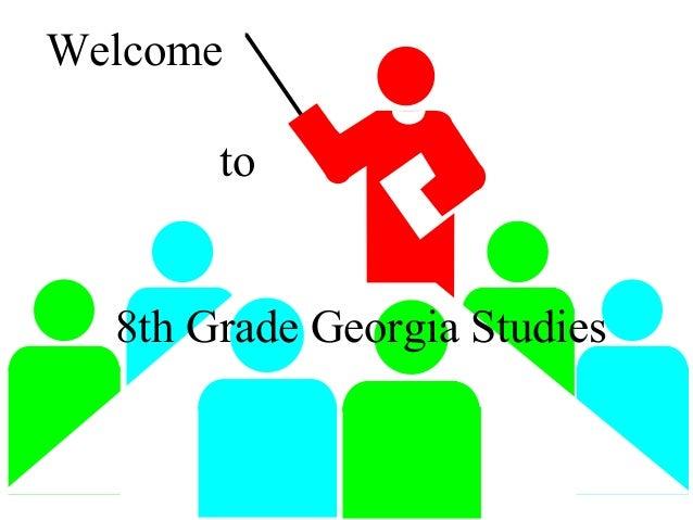 Welcome to 8th Grade Georgia Studies